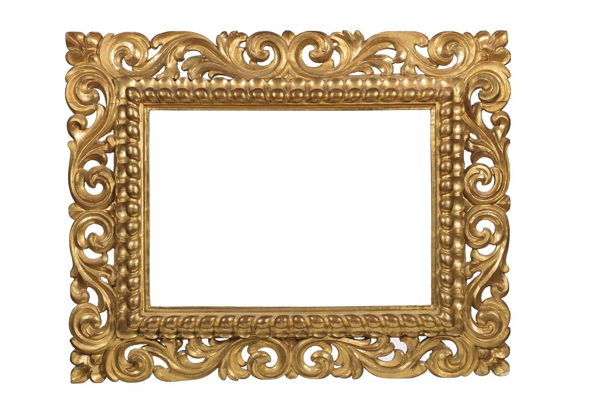Cornice firenze secolo xvii asta l 39 arte di ornare i quadri cornici antiche e dell 39 ottocento - Cornici specchi roma ...