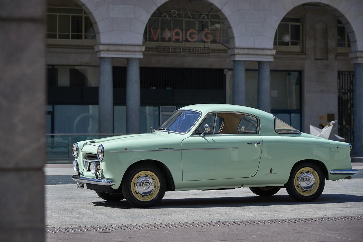 fiat 1100 tv pinin farina  1955  - auto classiche