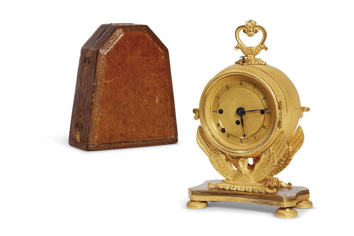 Orologio da tavolo francia metÀ secolo xix mobili ed oggetti d