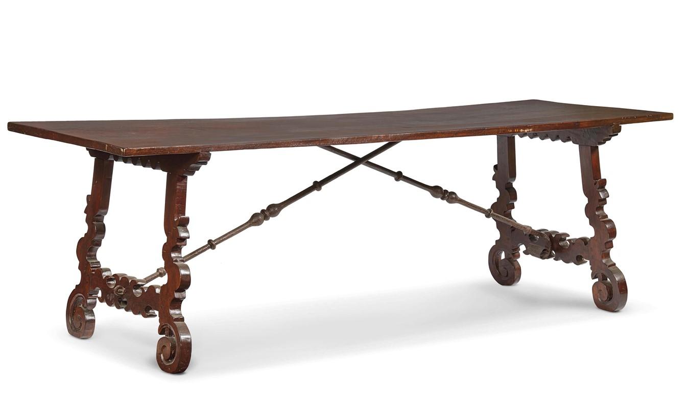 Tavolo in stile toscano del seicento mobili ed oggetti d 39 arte asta asta a tempo dipinti - Mobili stile toscano ...