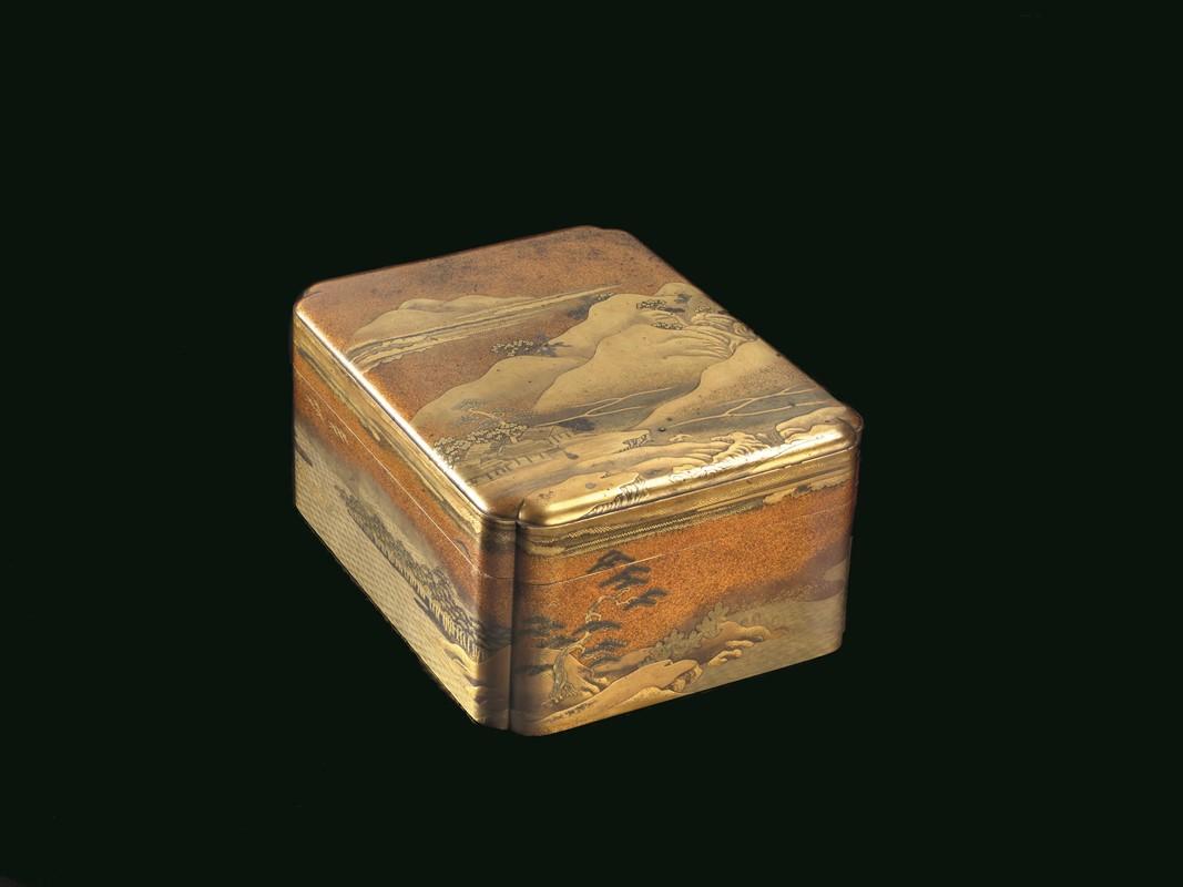 SCATOLA IN LACCA, GIAPPONE, PERIODO EDO (1603-1869) - ARTE ...