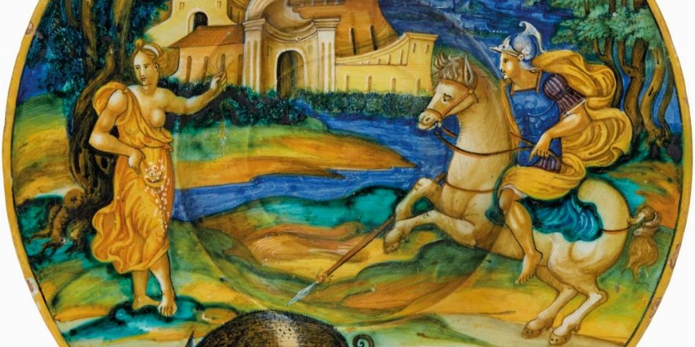 ASTA A TEMPO | CERAMICA. MAIOLICHE E PORCELLANE DAL XVI AL XX SECOLO