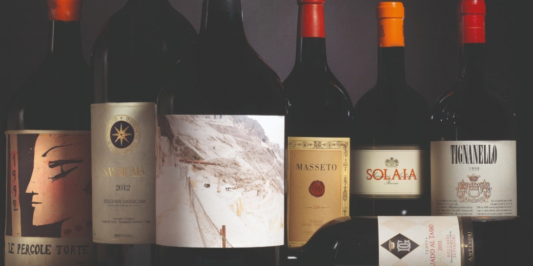 Il Fascino e l'Eleganza - A journey through the best Italian and French Wines