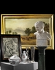 TIMED AUCTION | PAINTINGS, SCULPTURES, SILVER , FURNITURE AND  WORKS OF ART
