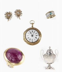 JEWELS, WATCHES AND SILVER