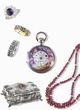 TIMED AUCTION | Jewels, watches and silver