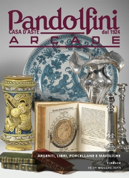 ARCADE | Silver, books, porcelain and maiolica