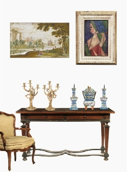 TIMED AUCTION | PAINTINGS, FURNITURE AND WORKS OF ART