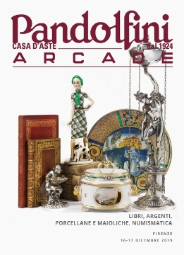 Arcade | Books, Silver, Porcelain and Majolica, Coins