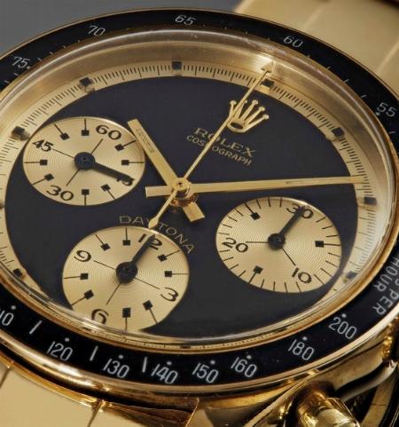 """In asta un orologio da star, il Rolex Daytona Paul Newman """"John Player Special"""" in oro giallo 14 Kt - News"""