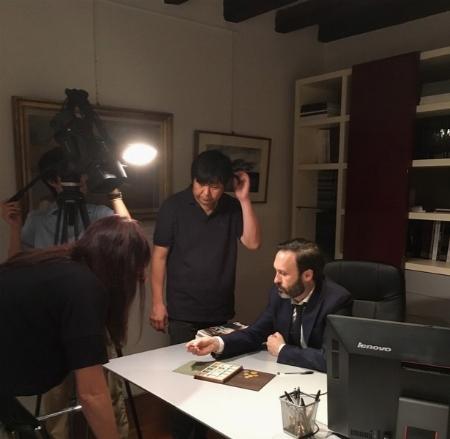 """IL """"FIORINO"""" AL TEMPO DI LEONARDO DA VINCI RACCONTATO IN UN DOCU-FILM PER LA TV GIAPPONESE - News"""