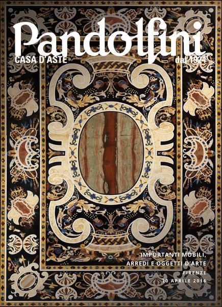 Importanti mobili arredi e oggetti d 39 arte le aste pandolfini casa d 39 aste - Arredi e mobili ...
