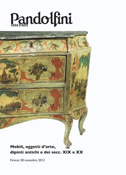 Mobili e arredi dipinti antichi e dipinti del sec xix for Arredi e mobili